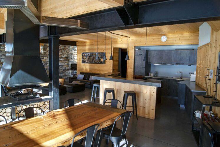 Chalet Alpinium 1 -Dinning room