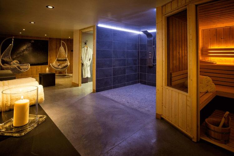 Chalet Alpinium 1 - Sauna