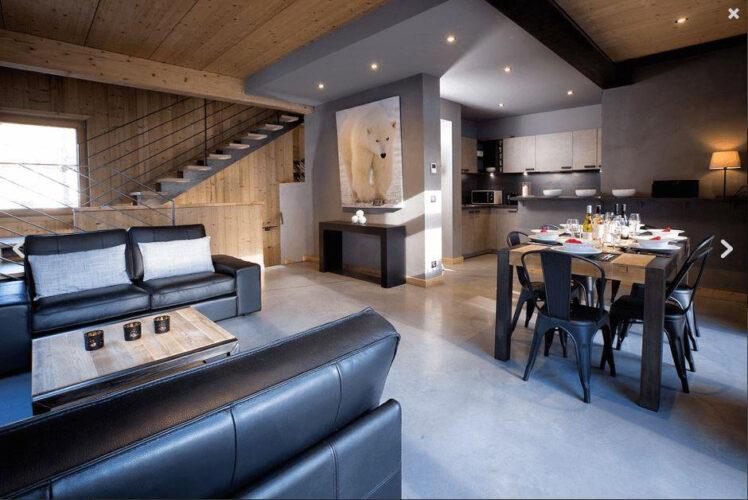 Chalet Alpinium 2 - Living room