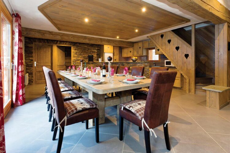 Chalet Les Cimes Blanches Dinning room