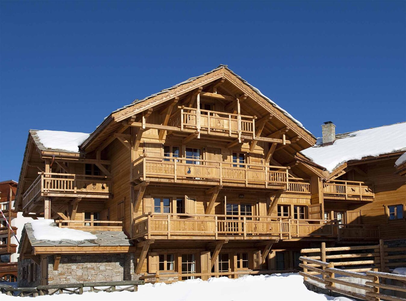 Chalet La Chapelle - Ski France Premium