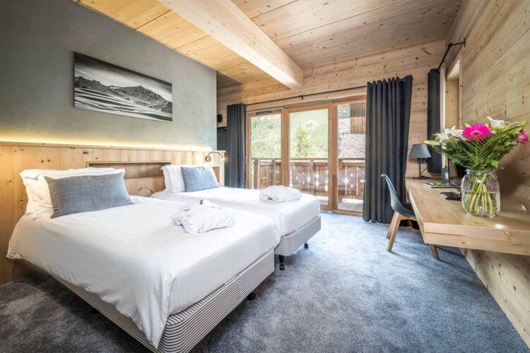 Chalet Alpinium 1 - Tignes - Twin bedroom