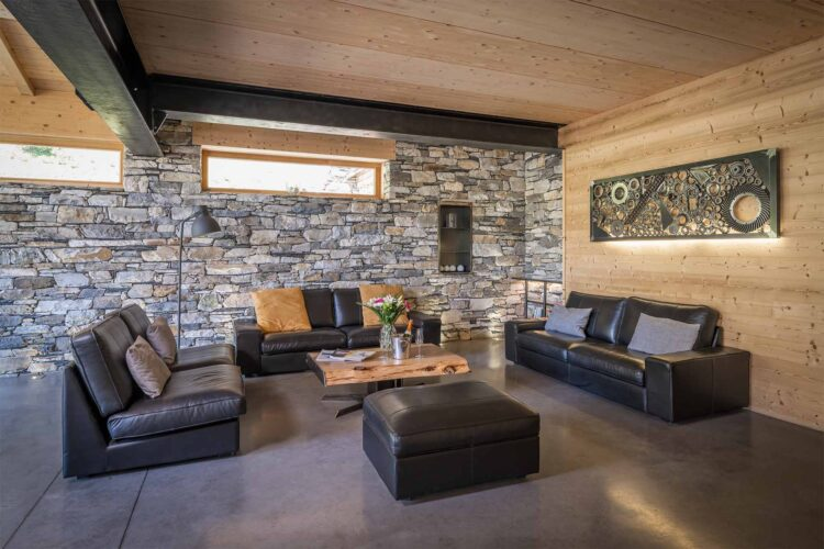 Chalet Alpinium 1 - Living room