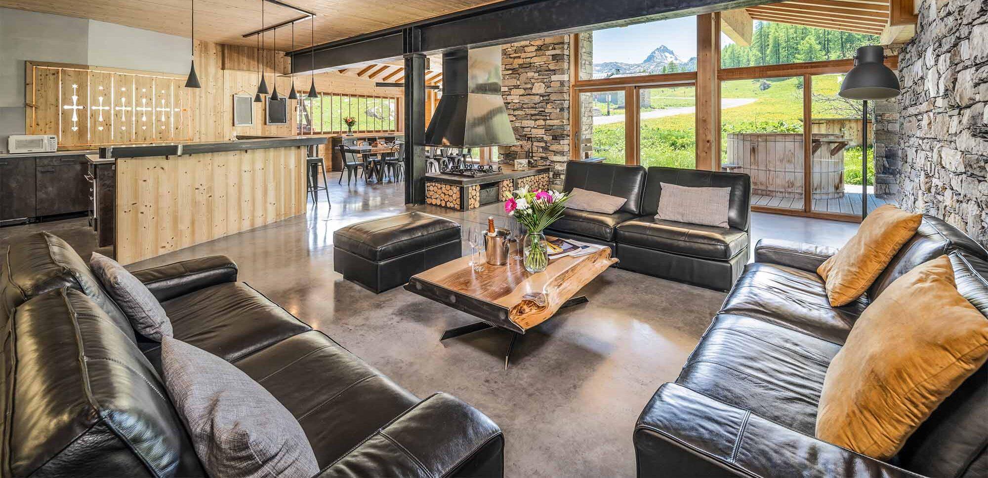 Chalet Alpinium 1 - Tignes - Living room