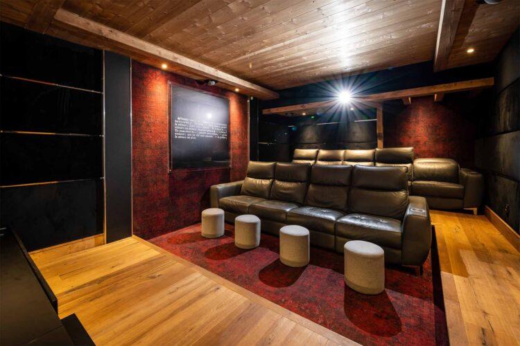 Chalet Mariefleur - Meribel - Cinema room