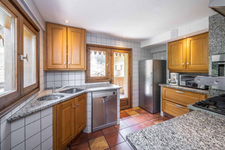 Chalet Mariefleur - Kitchen