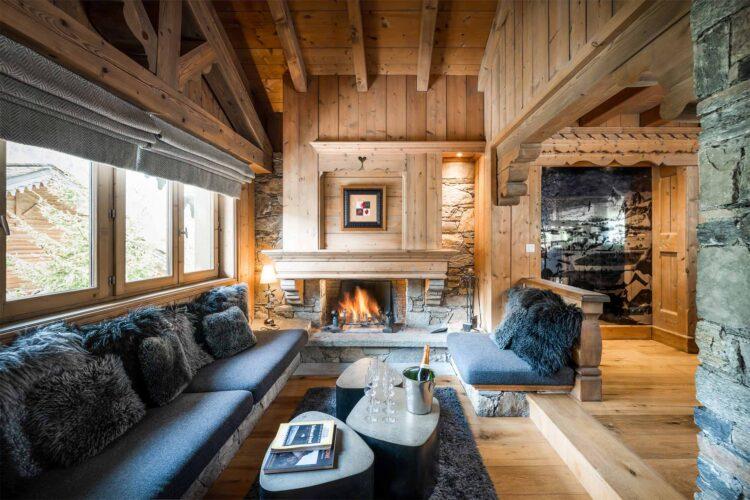 Chalet Mariefleur - Meribel - Living room